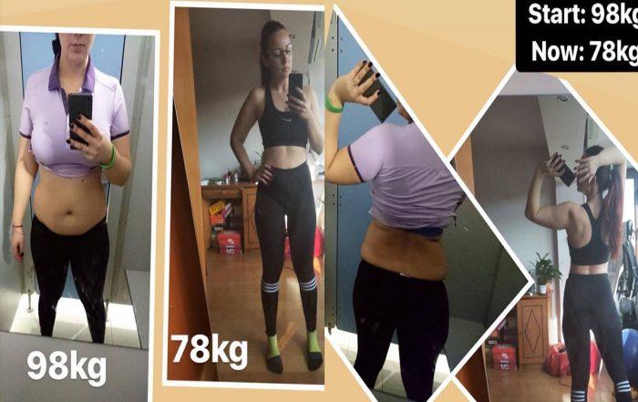 MihaPower personal Traning weightloss transformation Munich