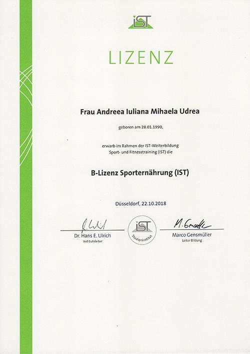 MihaPower B-Lizenz Sportnaerung IST Munich